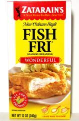 Zatarain's Wonderful Fish Fri 10 oz. (PolyBag)