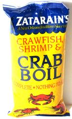 Zatarain's Pre-seasoned Crab Boil 1 lb.