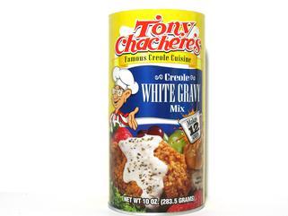 Tony Chachere's Instant White Gravy 10 oz.
