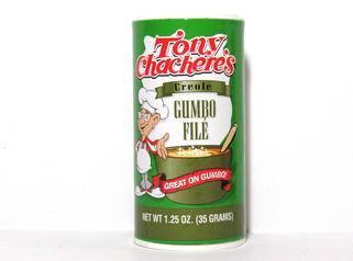 Tony Chachere's Gumbo File 1.25 oz.