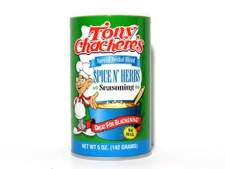 Tony Chachere's Spice N Herbs Seasoning 5 oz.